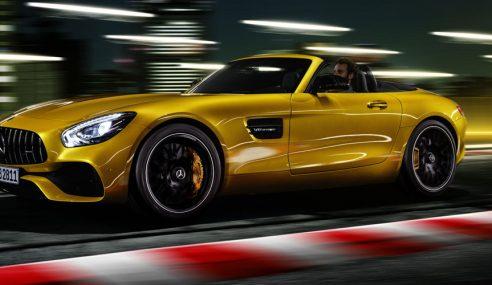 Mercedes-AMG GT S Roadster: Brinquedo de luxo para o calor