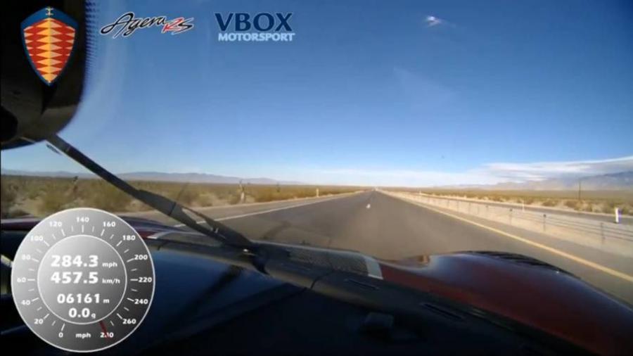 Koenigsegg Agera RS é o mais rápido do mundo