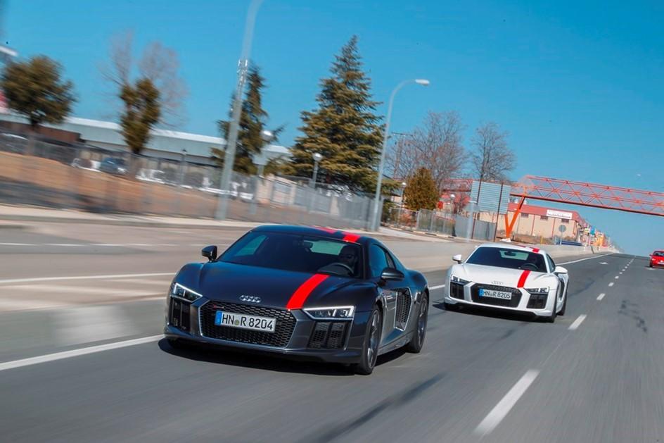 V10 RWS é o mais divertido e exclusivo dos Audi R8!
