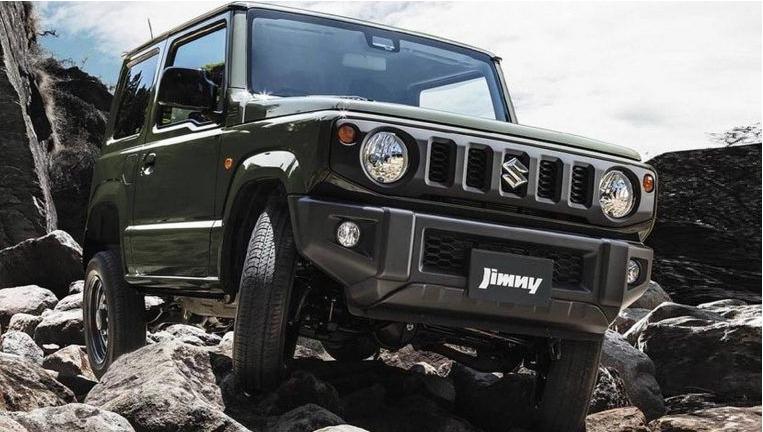 Suzuki mostra novo Jimny