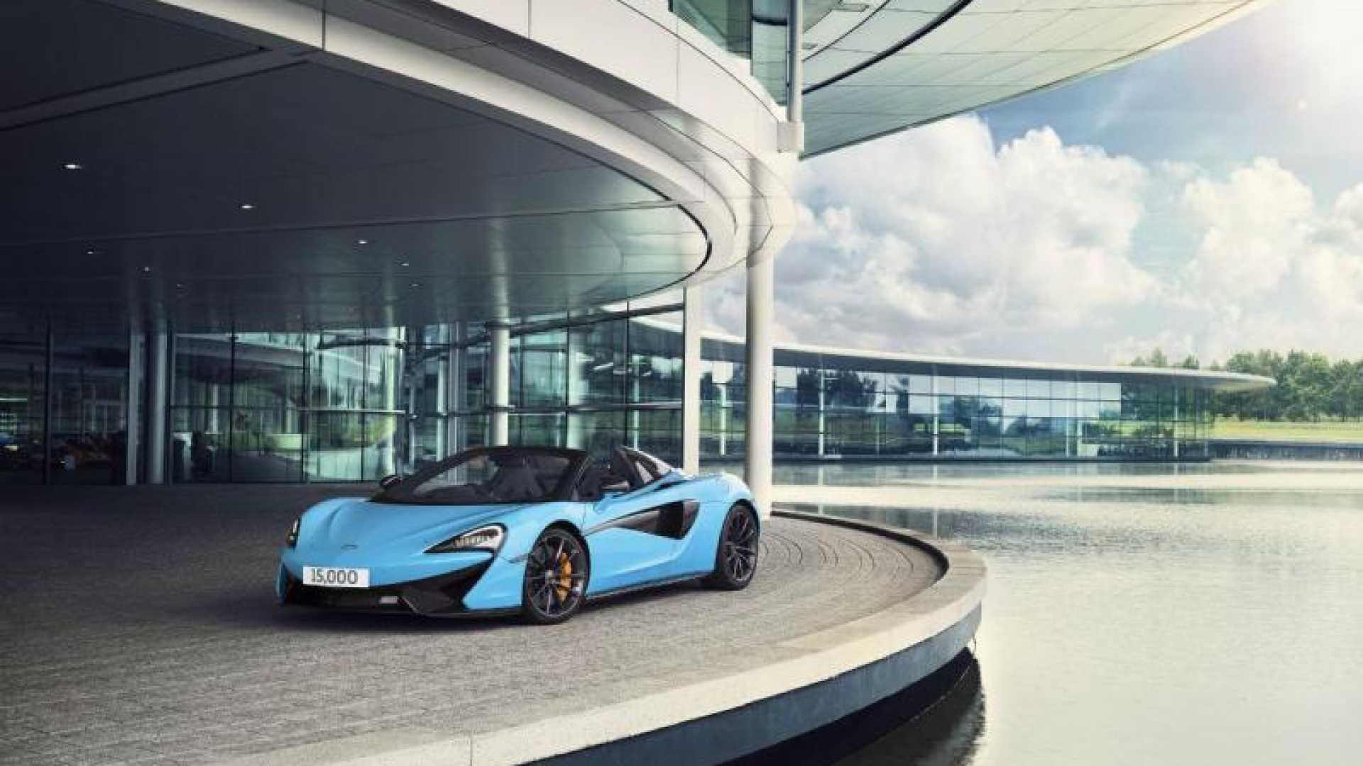 McLaren produziu 15 mil carros em sete anos