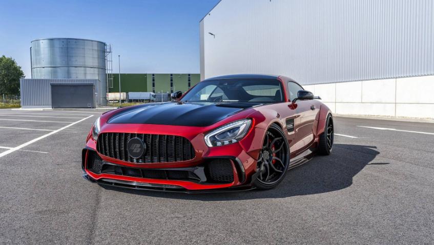 Prior Design adiciona agressividade ao Mercedes-AMG GT S