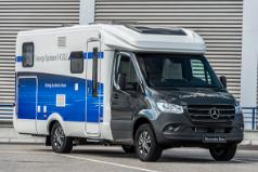 Mercedes-Benz testa caravana movida a hidrogénio