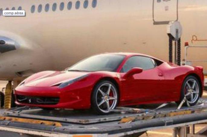 A companhia aérea que traz os carros de luxo dos árabes para a Europa