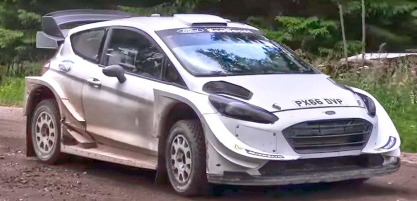 WRC: FORD COM GRANDE 'UPDATE' AERODINÂMICO NA FINLÂNDIA