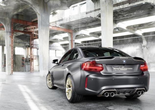 Componentes M dão origem a concept BMW
