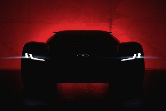 Audi PB18 e-tron: O futuro dos superdesportivos elétricos com quatro anéis