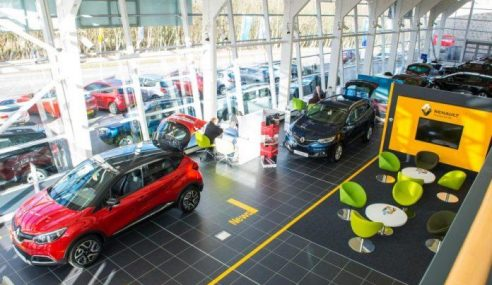 Vendas de automóveis no primeiro semestre aumentam 5,4%