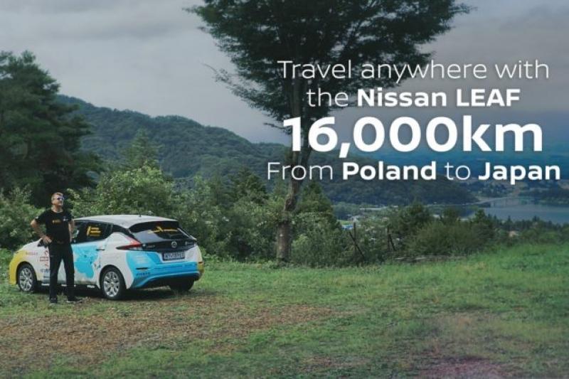 Percorreu 16 mil quilómetros em dois meses num Nissan Leaf