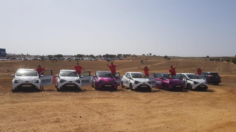 Toyota Aygo renovado dá boleias grátis no MEO Sudoeste
