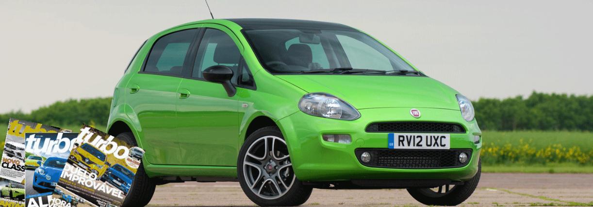 'Eu e o meu Fiat Punto': Ganhe uma assinatura Turbo durante 1 ano