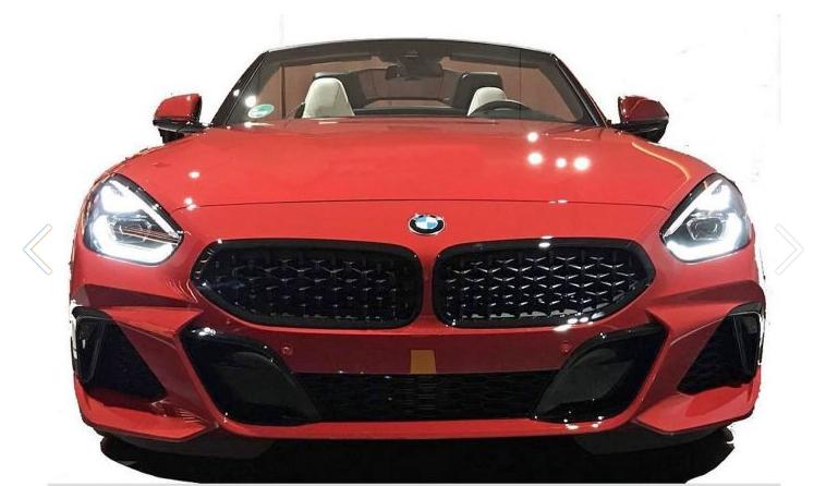 O BMW Z4 vai ser assim. Com ar de Fiat 124 Spider
