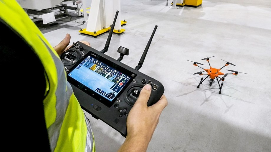 Ford usa drones para inspeccionar equipamentos nas fábricas
