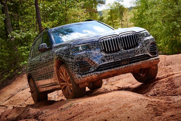 BMW X7 revelado… nas fotos da patente de estilo