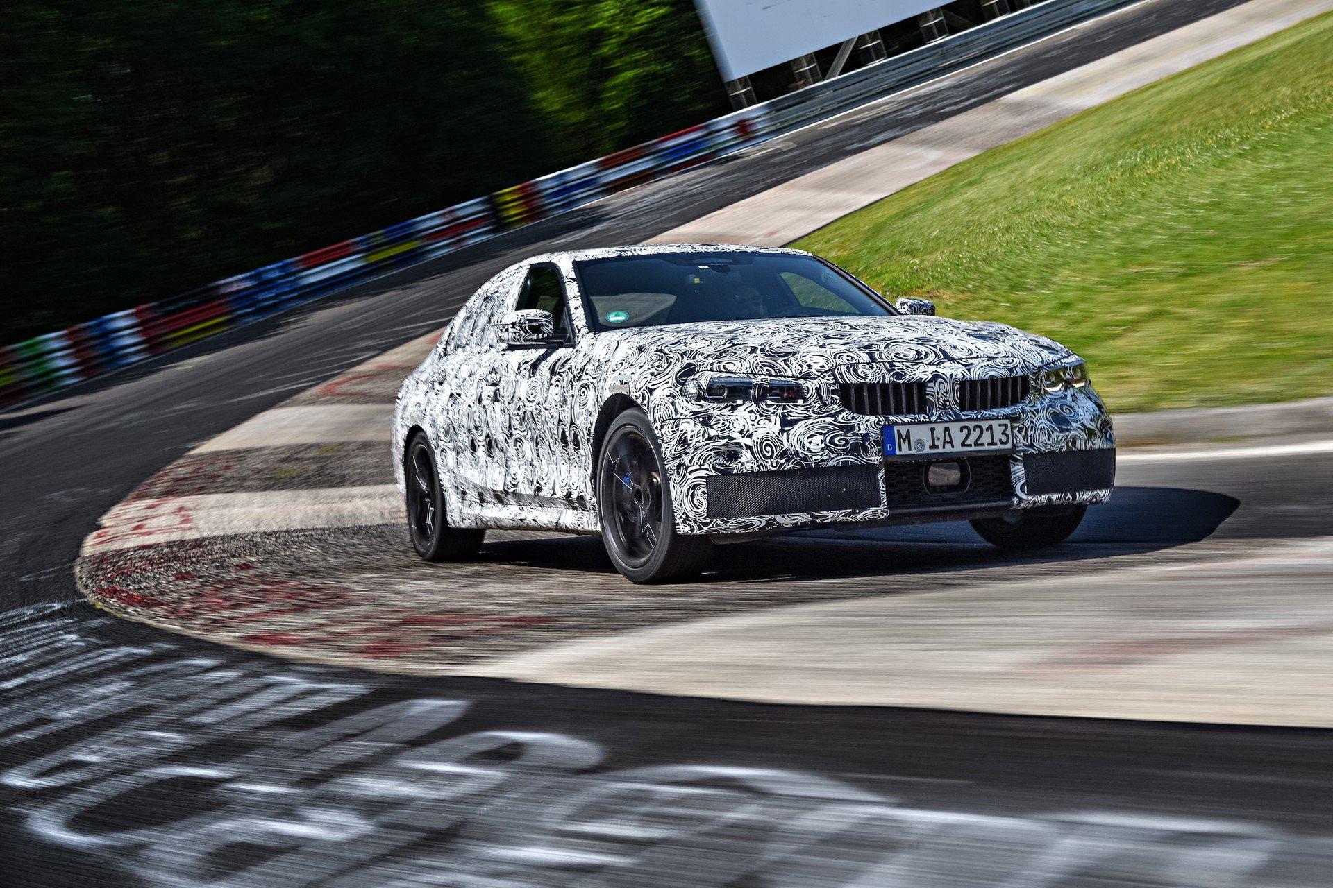 BMW revela mais um pouco do Série 3