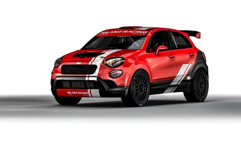 Fiat 500X está a prepara-se para os ralis
