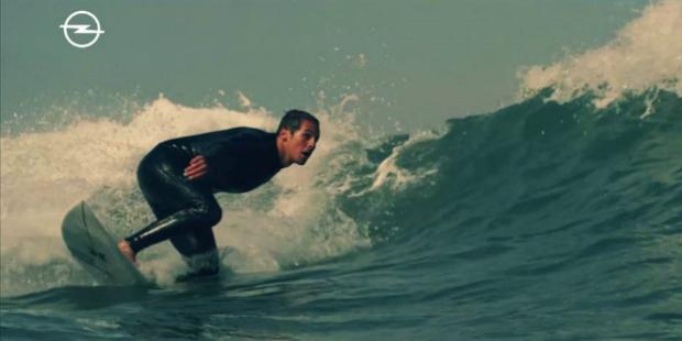 Opel conta a história do surfista Nic Von Rupp