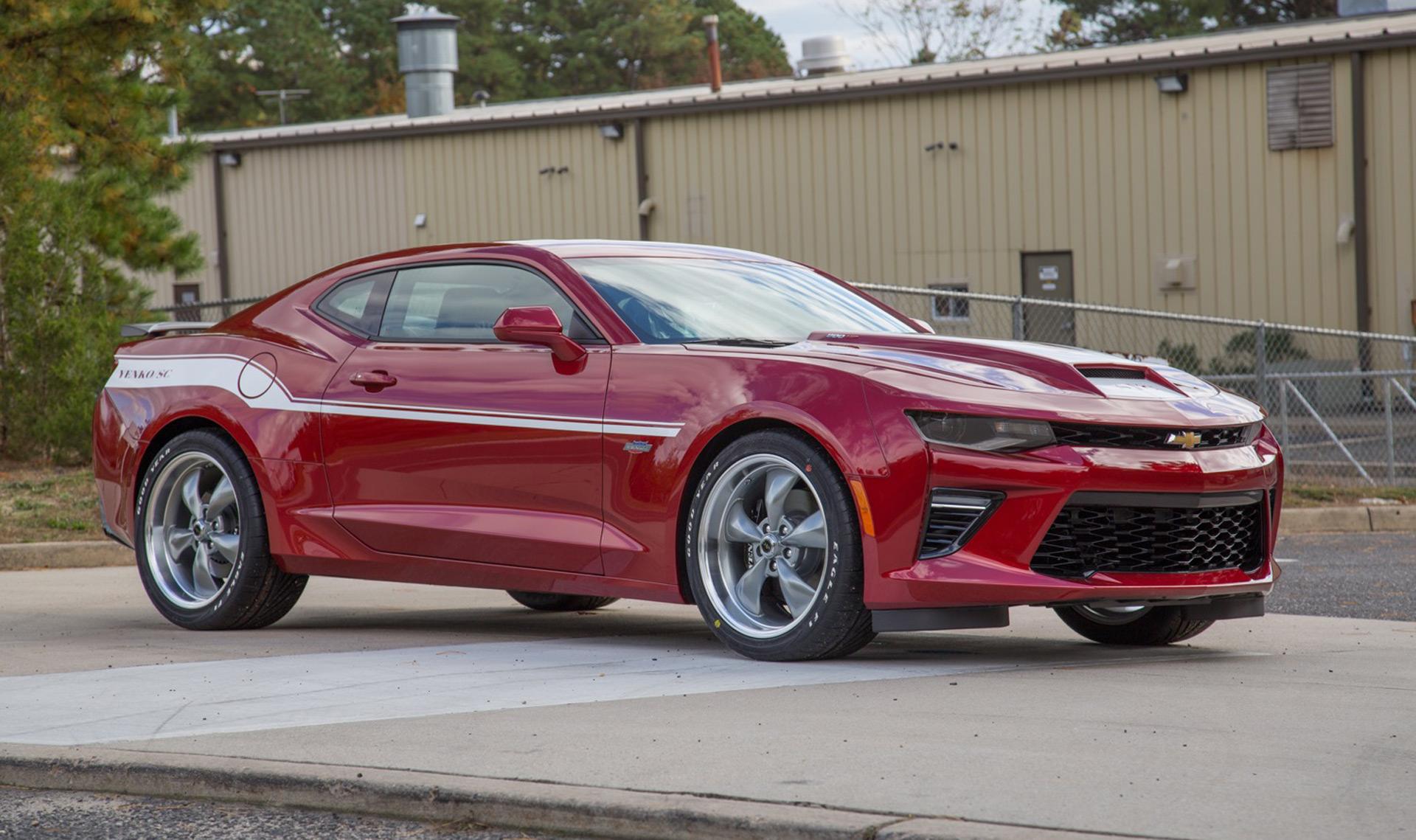 """Conhece o """"novo"""" Chevrolet Camaro com 1000 cv"""