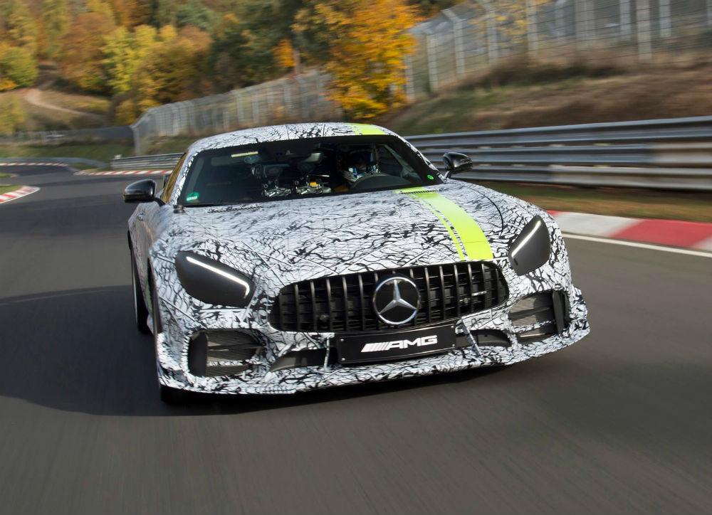 Mercedes-AMG GT R Pro revelado