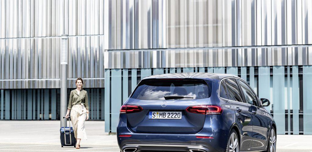Mercedes Classe B com tecnologia do Classe S