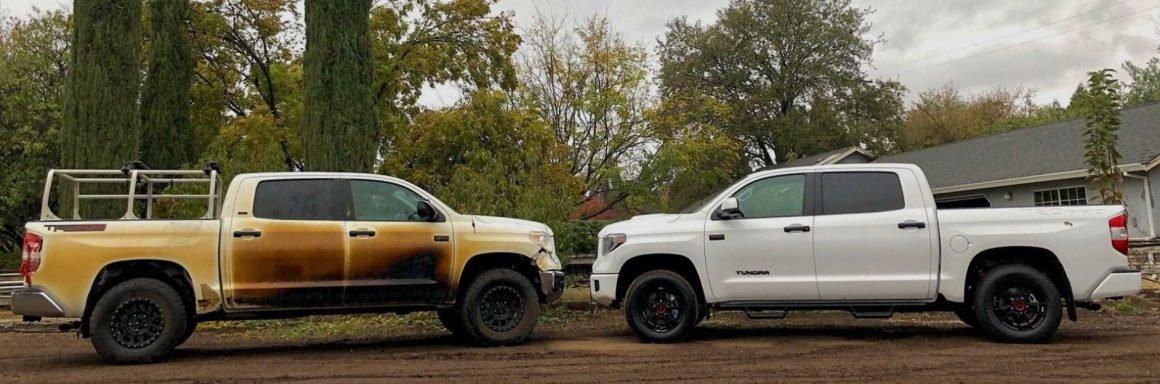 Toyota entrega nova picape Tundra para enfermeiro americano