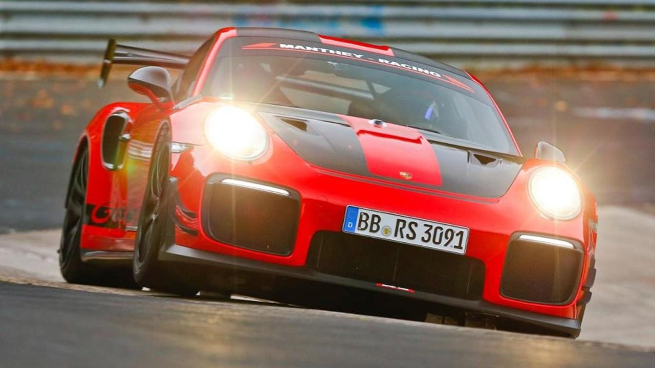 Porsche voltou a roubar recorde à Lamborghini
