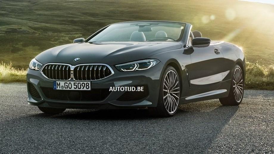 BMW Série 8 Cabrio fugiu para a net