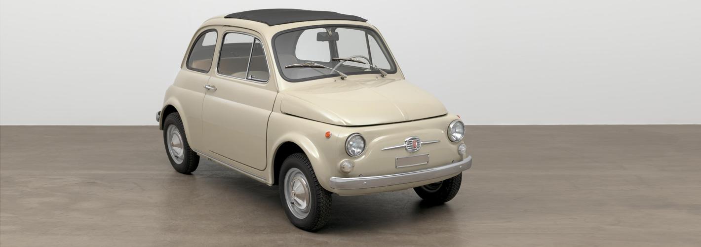 Fiat 500 vai estar exposto no MOMA