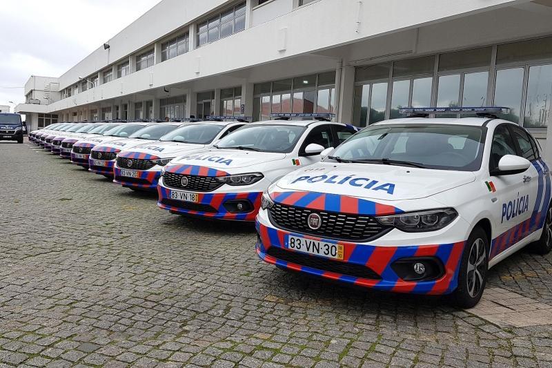 Fiat reforça frota das polícias portuguesas