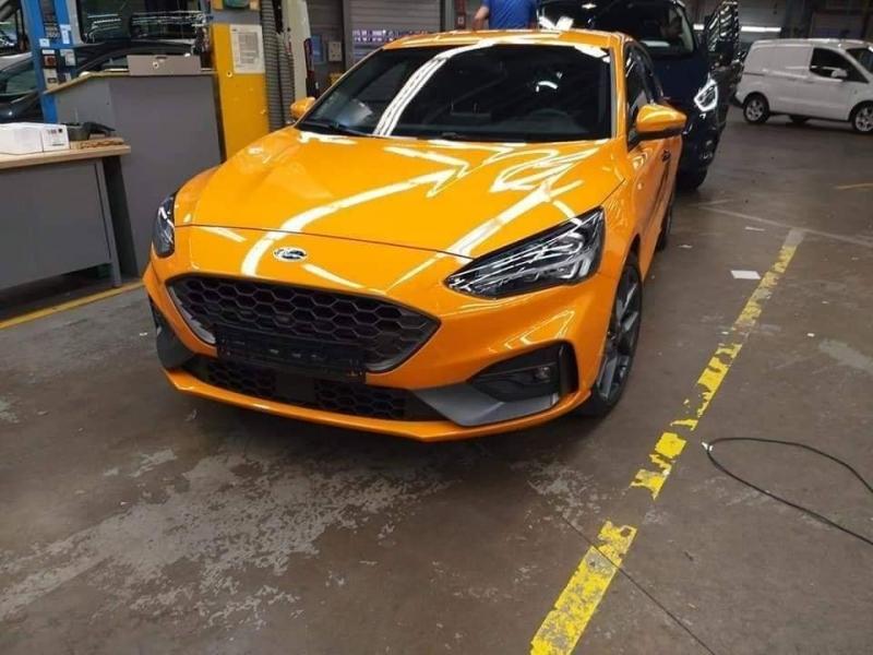 Ford Focus ST já circula online