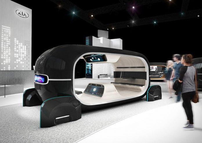 Kia já pensa na era pós-condução autónoma