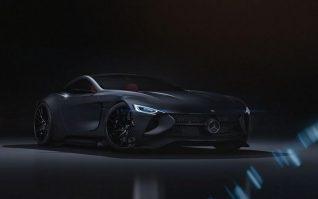 De fazer suspirar: Mercedes-Benz SLR Vision