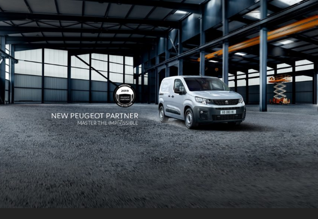 Peugeot inicia vendas do novo Partner