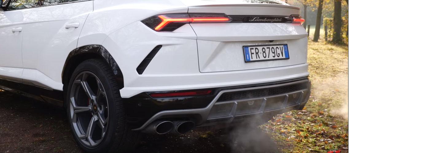Este é o som do Lamborghini Urus