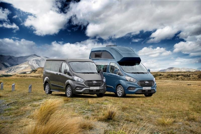 Nugget é a autocaravana Ford Transit pronta para viajar pelo mundo