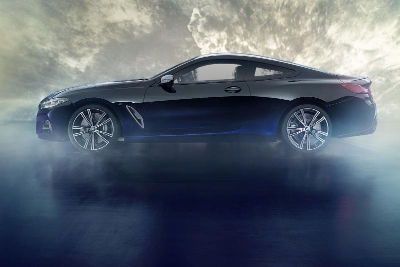 Este BMW Série 8 tem materiais extraterrestres