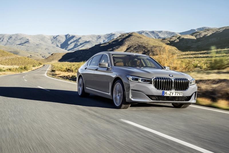 BMW Série 7 renovado profundamente: Nem a grelha escapou!