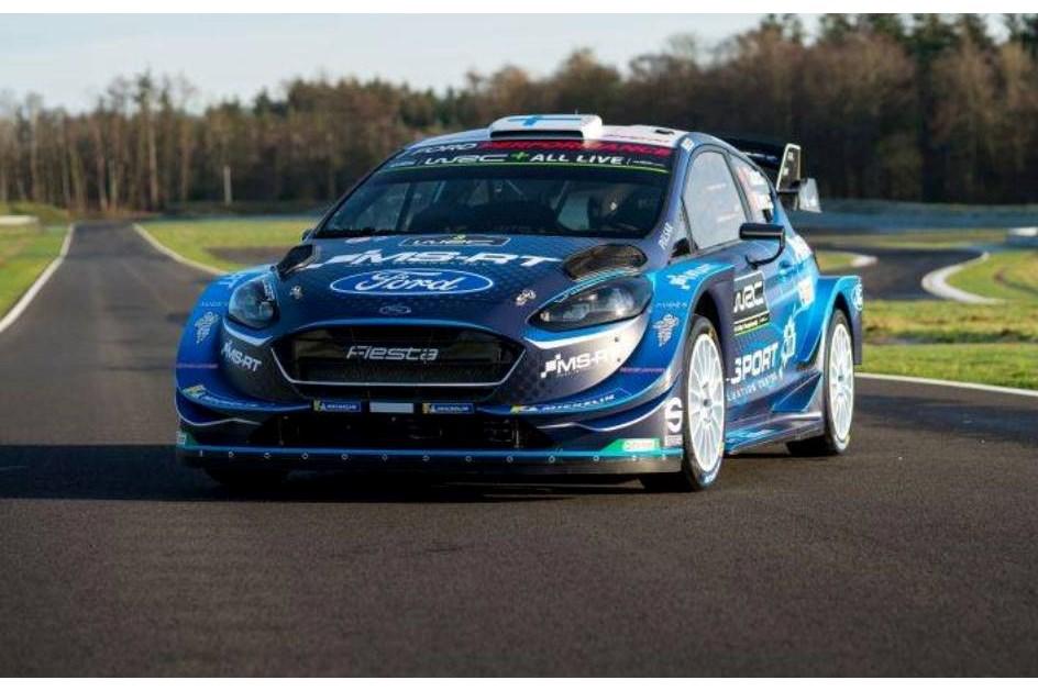 M-Sport já revelou as cores do Ford Fiesta WRC para 2019