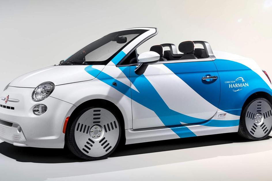 Este Fiat 500 eléctrico é capaz de lhe ler os pensamentos