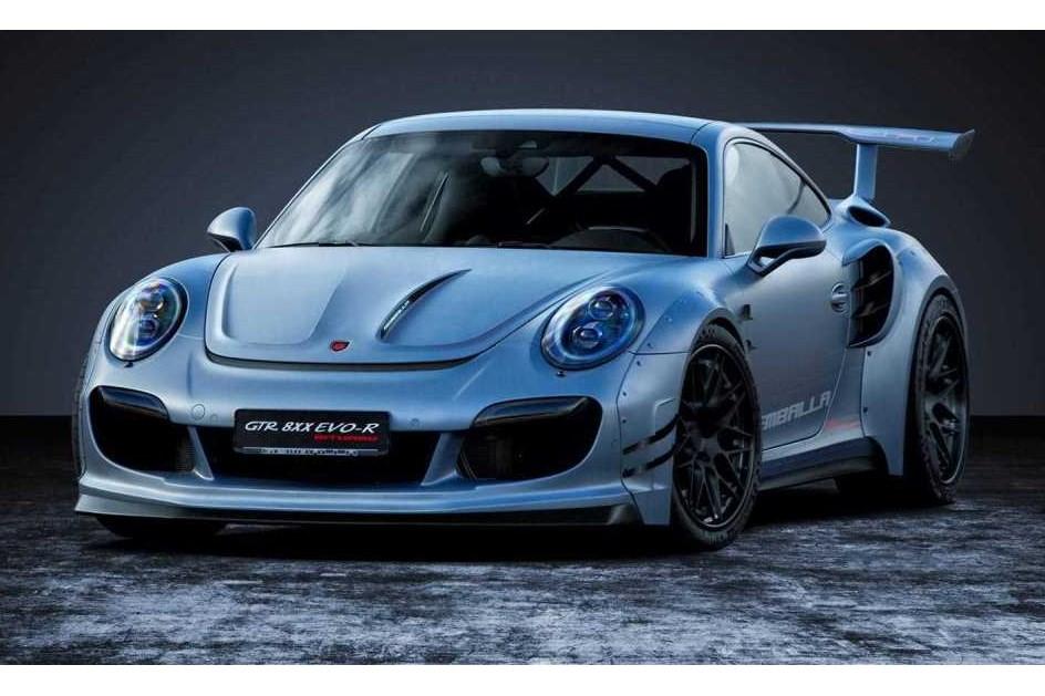 """Gemballa transformou o Porsche 911 turbo em """"besta"""" de 807 cv"""