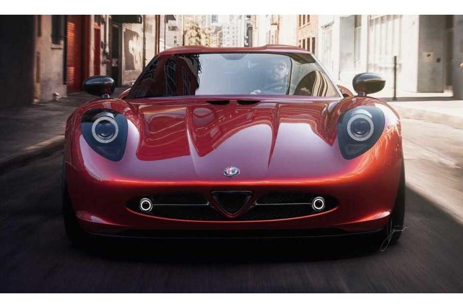 E se a Alfa Romeo fizesse um 33 Stradale?