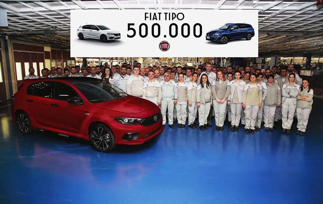 Fiat Tipo chega ao meio milhão de unidades