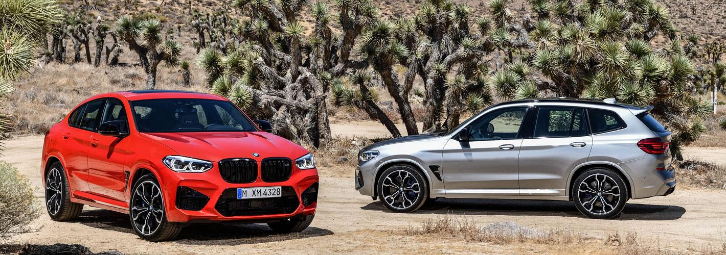 BMW X3 e BMW X4 sobem à divisão M