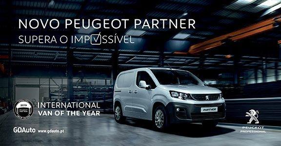 Peugeot Partner foi eleito o melhor 'Furgão