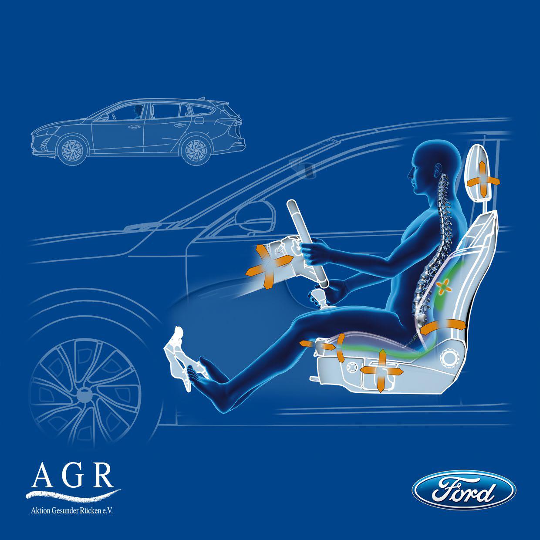 Ford equipa Focus com bancos ortopédicos que reduzem dores nas costas