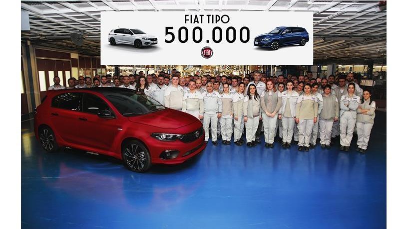 Fiat Tipo atinge as 500.000 unidades