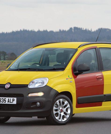 Fiat mostra nova versão Panda Hawaian Edition