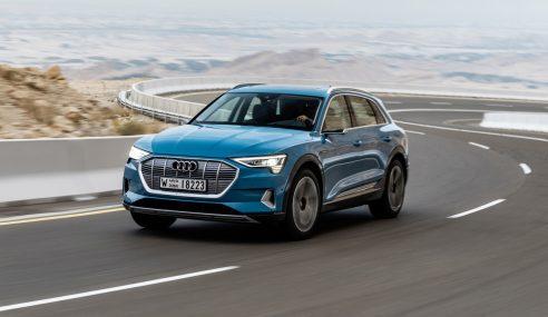 Audi E-tron: carregamento a alta velocidade e updates por software